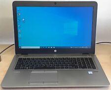 """HP EliteBook 850 G3 Intel Core i5-6200U upto 2.80GHz 8GB 240GB SSD 15"""" Win Pro"""