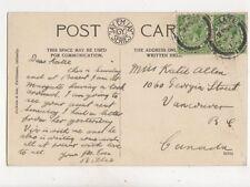 Miss Katie Allen Georgia Street Vancouver Canada 1915 350b