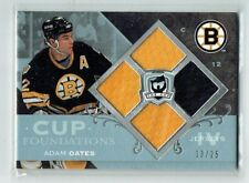 07-08 UD The Cup Foundations  Adam Oates  /25  Quad Jerseys  HOF