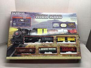 Bachmann HO Iron King Rio Grande Electric Train Set #00693 NO TRANSFORMER