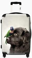 "iKase Henry and Pipi Newfoundland Dog Rachael Hale 24"" Hardside Spinner Suitcase"
