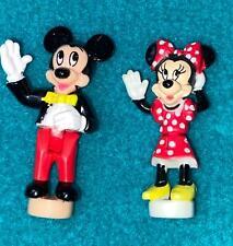 New listing Disney Polly Pocket Magic Kingdom Castle Mickey and Minnie Mouse Dolls
