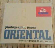 NEW Oriental Paper Bank Photographic Print Storage Box Seagull Darkroom Sealed
