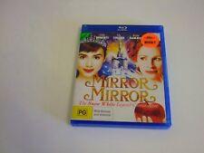Mirror Mirror - Ex-Rental Blu Ray **Free Postage** (Julia Roberts Lily Collins)