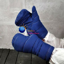 MEDIEVAL GLOVES GAMBESON COTTON ARMOR THICK PADDED SCA LARP