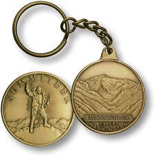 Mt. Olympus / Summiteer - Washington - Bronze Challenge Coin Key Chain