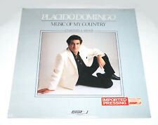 Placido Domingo MUSIC OF MY COUNTRY (ZARZUELA ARIAS) 1980 London ffrr SEALED LP