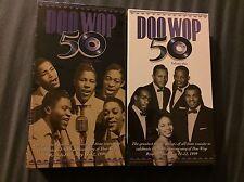 Doo Wop 50 VHS Volume 1 & Volume 2 BRAND NEW BOTH SEALED Rhino May 11-12, 1999