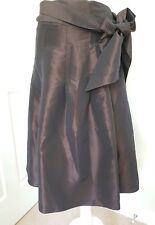 Per Una Chocolate A-line  Skirt Uk 18