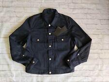 New J.Lindeberg Men's Denim Jacket Dark Blue Size L