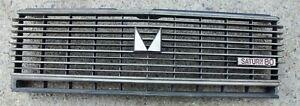 MITSUBISHI GALANT SIGMA A121 MODEL 1979 80 81 FRONT RADIATOR GRILLE MASK USED
