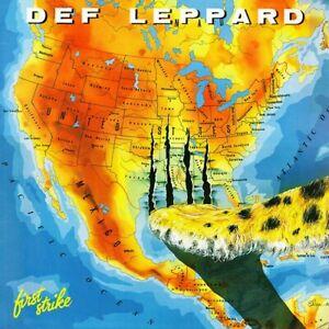 Def Leppard First Strike 12x12 Album Cover Replica Poster Super Gloss Print
