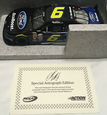 2015 1/24 Darrell Bubba Wallace Jr EcoBoost Mustang Autographed #26/60 RARE