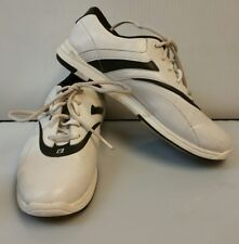 Brunswick Bowling Shoes Silk White Black Ladies Womens Size US 8 EU 38 L003 USA