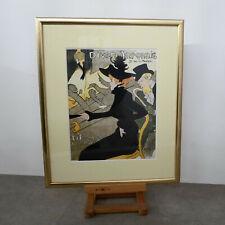 Kunstdruck Lithografie J.1892, von Henri de Toulouse Lautrec, Divan Japonaise