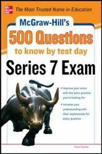 McGraw-Hill's 500 Series 7 Exam Questions to Know by Test Day, 2013