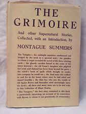 Montague Summers - The Grimoire - 1st/1st 1936, Rare Original D/W - Le Fanu