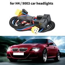 H4 Halogen Wire Harness Car Headlight LED Brightness Booster Wiring Harness Kit