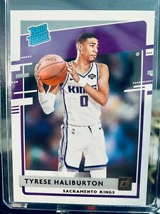 2020–21 Donruss Rated Rookie Tyrese Halliburton Sacramento Kings