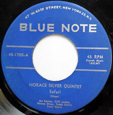 HORACE SILVER QUINTET 45 Safari / Outlaw JAZZ Blue Note RVG West 63 St w2424