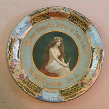 Coca-Cola Tin Litho Serving Tray,VINTAGE OUTSTANDING,1905-1910!!!