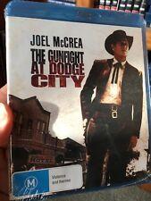 The Gunfight At Dodge City brand NEW/sealed BLU RAY (1959 western movie) rare