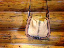Fossil Long Live Vintage ~ 1954~ Cross Body Brown Leather Shoulder Bag