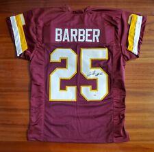 Peyton Barber Autographed Signed Jersey Washington Redskins Psa Dna