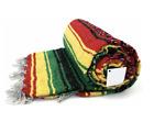 Mexican Blanket Rasta Marley Serape Throw Mexican Yoga Boho Falsa Blanket XL