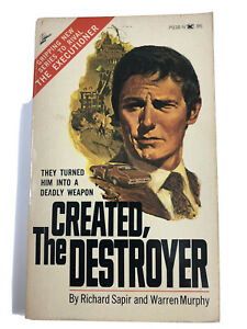 Created The Destroyer #1 by Richard Sapir & Warren Murphy 6th Printing 1973