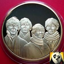 The Beatles Abbey Road Commemorative Gold Plated UNC Crown Size Coin Medal
