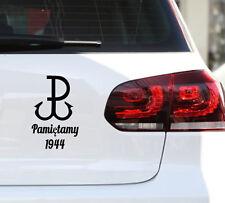 Polen Poland Polska Heimatarmee Sticker JDM Kotwica Aufkleber Pamiętamy Decal