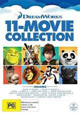 Dreamworks Mega Pack (DVD, 2015, 11-Disc Set)