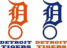 Detroit Tigers Cornhole Decal Set - 6 Cornhole Decals Free Circles