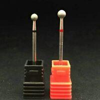 Nail Drill Bit Carbide Manicure Ceramic Tungsten Steel Pedicure Tool 4/5mm xkj