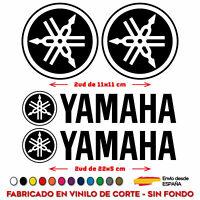 4X YAMAHA PEGATINAS VINILO PATROCINADOR LOGO YAMAHA ADHESIVO MOTO COCHE