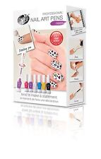 Rio Beauty Professional Nail Art Neon - Create Customised Fun Colourful Art Pens