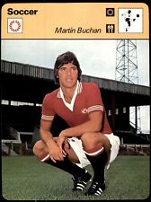 Editions Rencontre Sportscaster Football Card (1977-80) - Martin Buchan