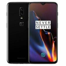 """OnePlus 6T A6013 6.4"""" 128GB Android T-Mobile GSM Unlocked Shadow Smartphone"""