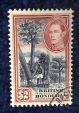 British Honduras 1938 Definitive $2 Superb Used SG 160 Catalogue £35 in 2016