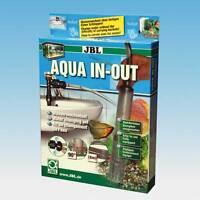 JBL Aqua In-Out - Wasserwechsel Bodenreinigung Aquarium Mulmglocke Mulmsauger