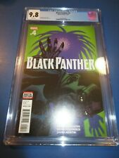Black Panther #4 CGC 9.8 NM/M Gorgeous Gem Wow
