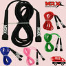 Jump Rope Speed Skipping Crossfit Fitness Workout Gym Aerobic Exercise Cardio