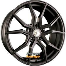 4x Schmidt REVOLUTION DRAGO Satin Black 10x19 ET21 5x112 ML66.5 Alufelgen