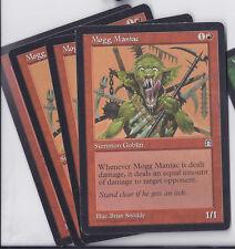4 x Mogg Maniac  Stronghold Magic The Gathering mtg