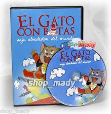 El Gato con Botas Viaja alrededor del Mundo, de Toei animation en Español Latino