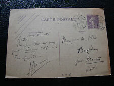 FRANCE - carte entier 1927 (date 701) (cy20) french