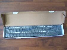 "Cat6 48 Port Patch Panel 19"" Rack Mount Cat-6 with Wire Management Back Bars"