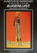 Augenlust Ausstellungsplakate 3er SET 1998, Pop Art Grafik - NEU
