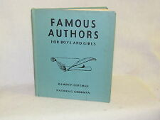 Vintage Book - Famous Authors for Boys and Girls